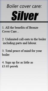 Silver Boiler cover Care