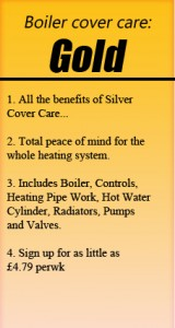 Gold Heating Cover Care