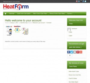 heat firm myaccount